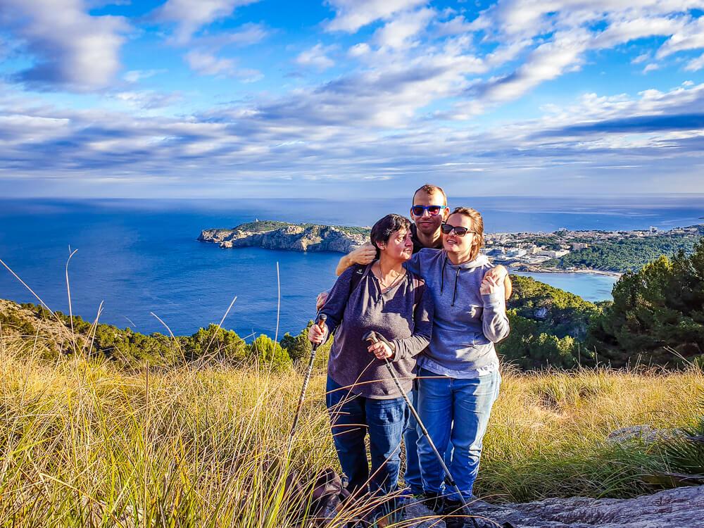 Mallorca-Cala-Ratjada-Agulla-Wanderung-Team