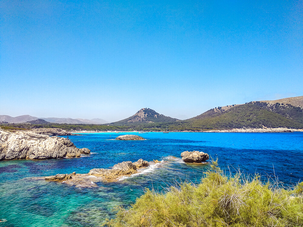 Mallorca-Cala-Ratjada-Cala-Lliteras-Strand-Bucht-7