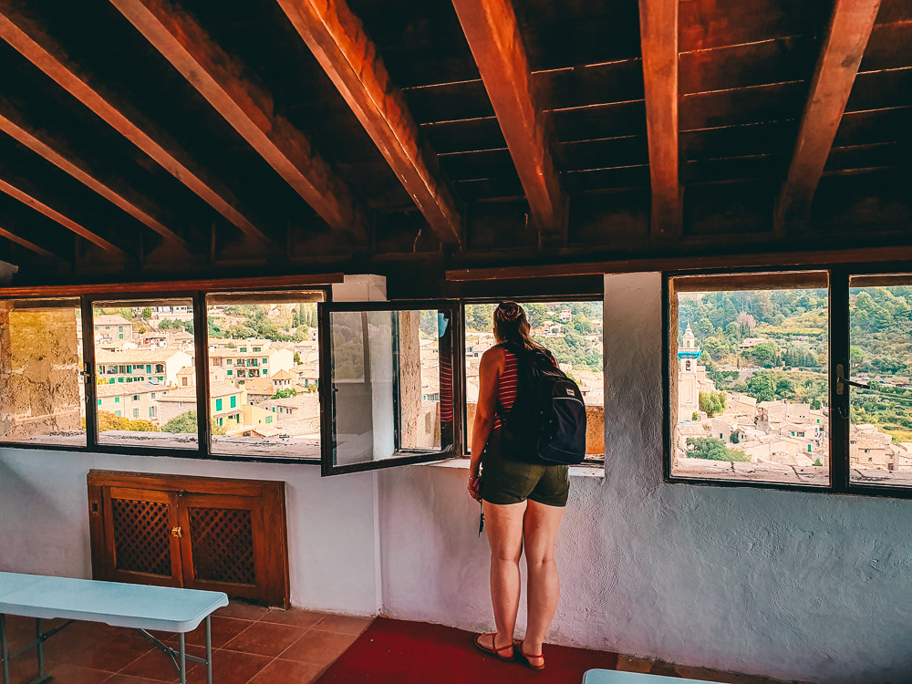 Mallorca-Valldemossa-Torre-Homenatge-Tramuntana-Rundblick-3