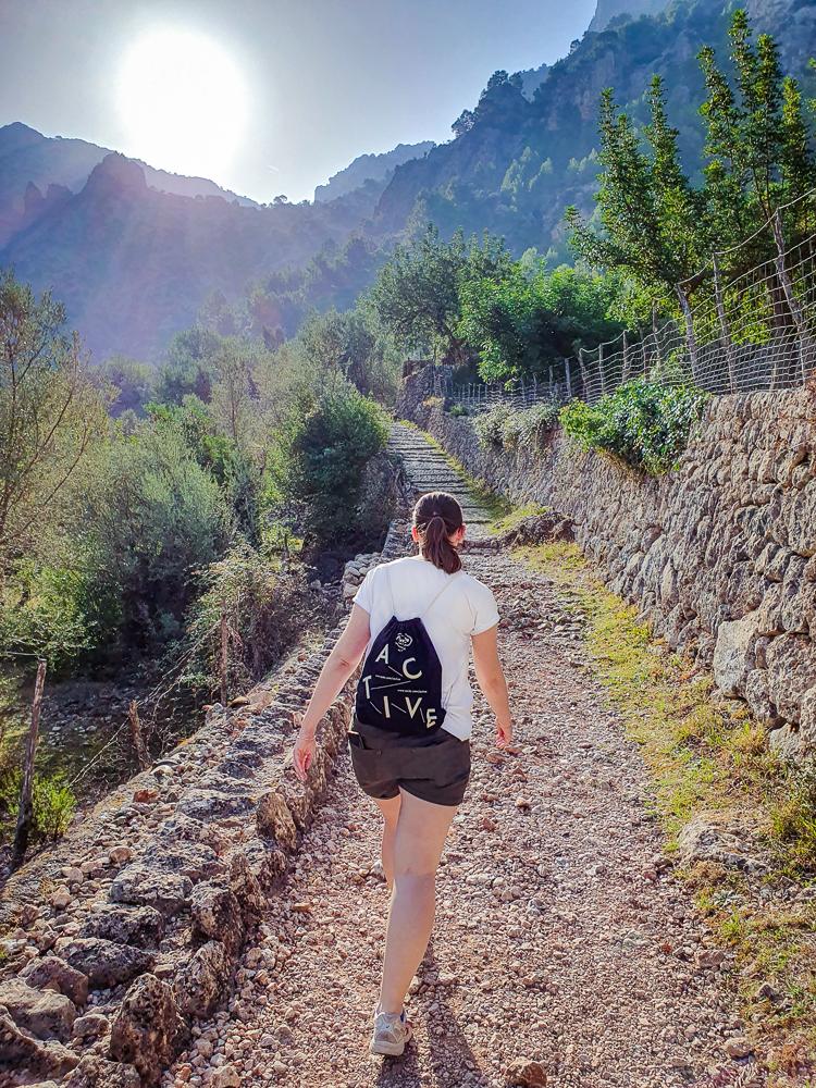 Mallorca-Wanderung-Barranc-de-Biniaraix-Tramuntana-1